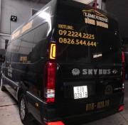 Đặt xe Xe Limousine Trung Tâm Thành Phố Mới Bình Dương đi Bà Rịa 0924456118