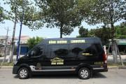 Đặt xe Limousine thành phố mới bình dương 0968494355